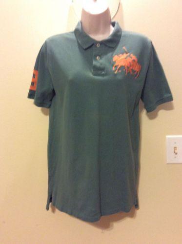 Polo Ralph Lauren Big Pony Shirt Sage Boy's XL(18-20)