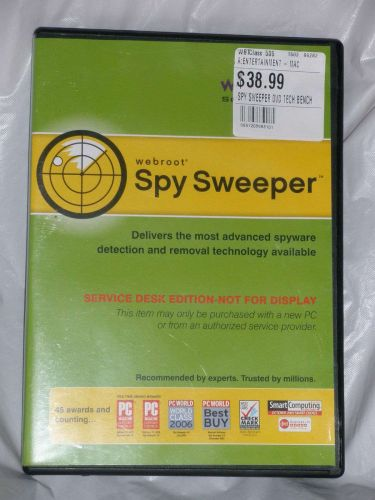 SpySweeper Software