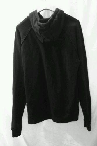EUC men's, sz. M, prAna black, hoodie