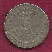 Mexico 5 Centavos 1910 Coin