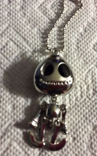 Silver Fashion Cute Skelton Necklace