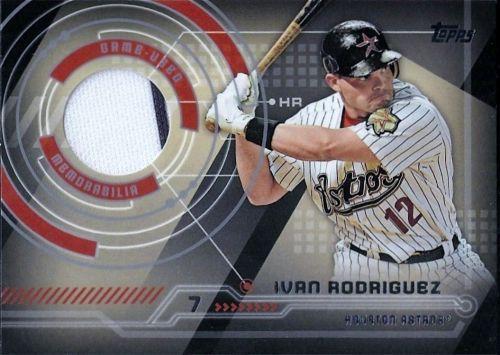 2014 Topps #TR-IR Ivan Rodriguez Trajectory Jersey Relic