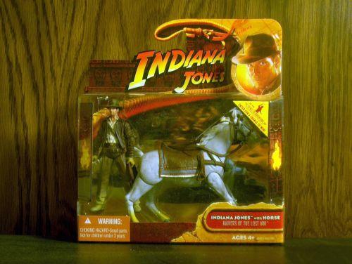 Indiana Jones with horse by Hasbro