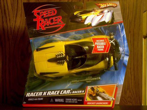 Racer X Race Car and Racer X