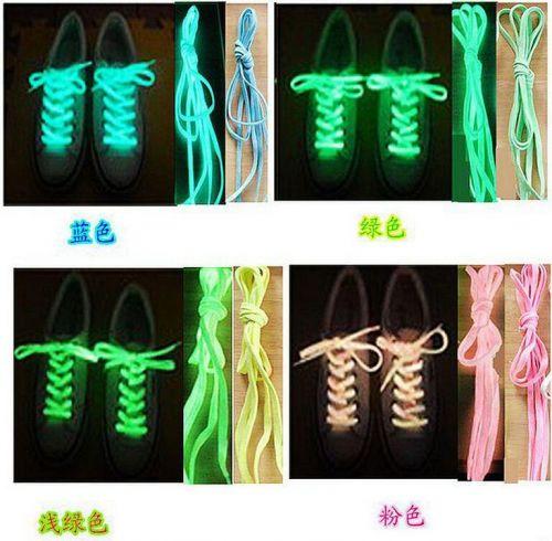 US seller Glow in the dark shoe lace
