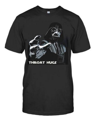 Star Wars tee Darth Vader THROAT HUGS