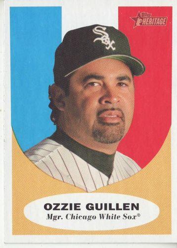 2010 Topps Heritage #132 Ozzie Guillen