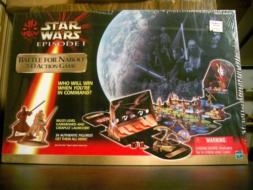 Star Wars Battle for Naboo 3D Action Game