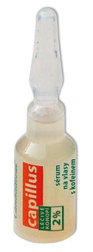 Hair serum with caffeine