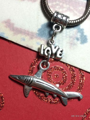 Love SHARKS! More Love Sharks European Charm