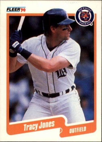 1990 Fleer #607 - Tracy Jones - Tigers