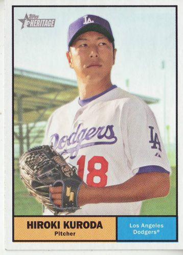 2010 Topps Heritage #296 Hiroki Kuroda