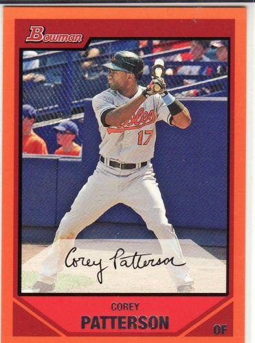 2007 Bowman Orange #83 - Corey Patterson - Orioles