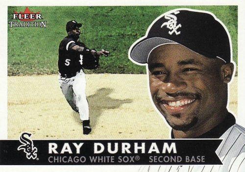 2001 Fleer Tradition #148 - Ray Durham - White Sox
