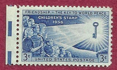US Stamp 1956 3c Stamp Childrens Issue Scott #1085 MNH