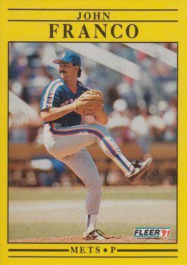 1991 Fleer #147 John Franco