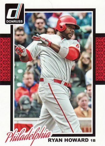 2014 Donruss #323 - Ryan Howard - Phillies
