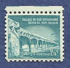 US 1 - 1/4 C 1960 Stamp Palace of the Governors MNH Scott 1031
