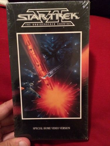 Rare Star Trek VI: The Undiscovered Country (VHS,1992 ) Sp Home Video Version!