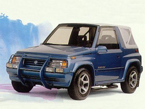 89-96 Suzuki Sidekick Vitara Geo Tracker Service Repair Manual CD --- Sunrunner