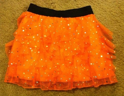 Total Girl Sequined Skirt With Inside Shorts Size 5