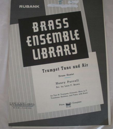 Trumpet Tune & Air - Purcell/Brown - Brass Sextet