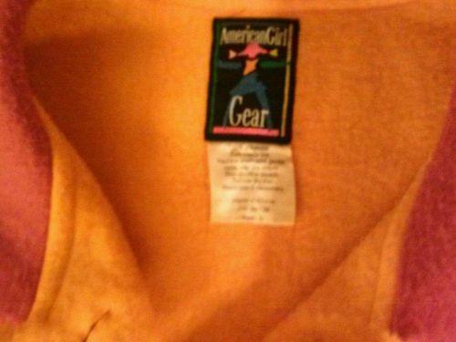 American Girl GearJacket-Pleasant Company Girls Sz L