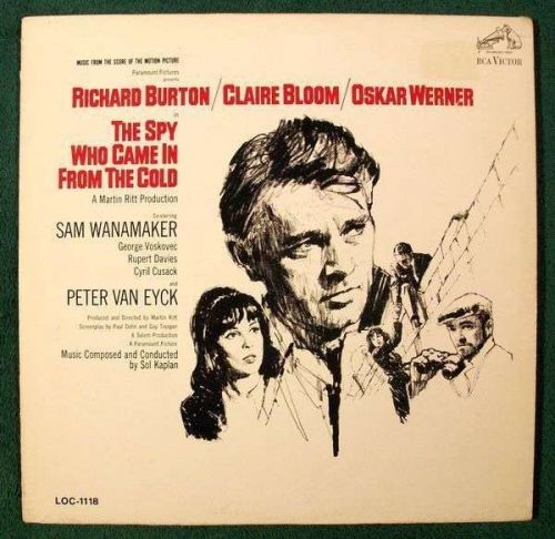 THE SPY WHO CAME IN FROM THE COLD ~ 1965 Movie Soundtrack LP