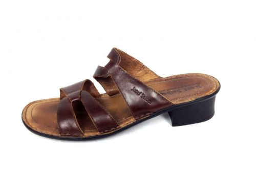 Josef Seibel Shoes 42 11 Womens Brown Leather Sandals