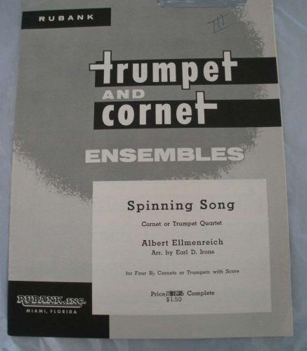 Spinning Song - Ellmenreich/ Irons - Trumpet Quintet