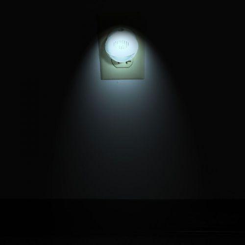 LED Night Light Lamp 2 Pieces Set, 360 Degree Rotating Head Night Lamp