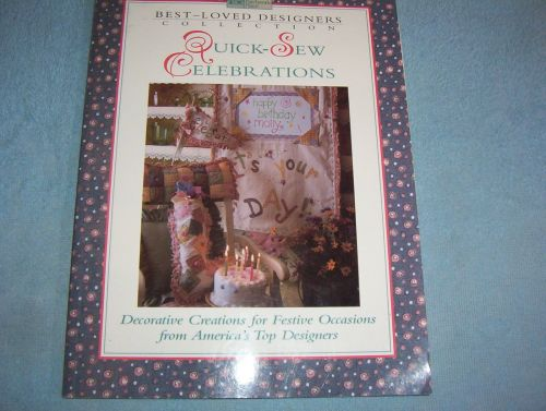 Best Loved Designers Collection Quick Sew Celebrations Pattern Book