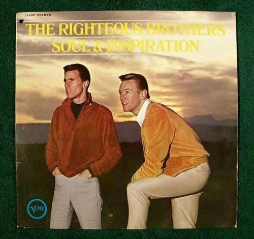 RIGHTEOUS BROTHERS ~ Soul & Inspiration Blue-Eyed Soul! Imp. Germany