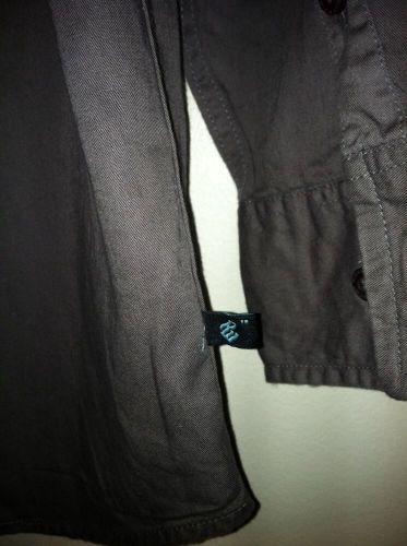 RocaWear Gray Sage Button Down Long Sleeve Shirt Size XL(18/20)