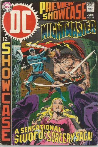 Showcase #83 WRIGHTSON DC COMICS NIGHTMASTER