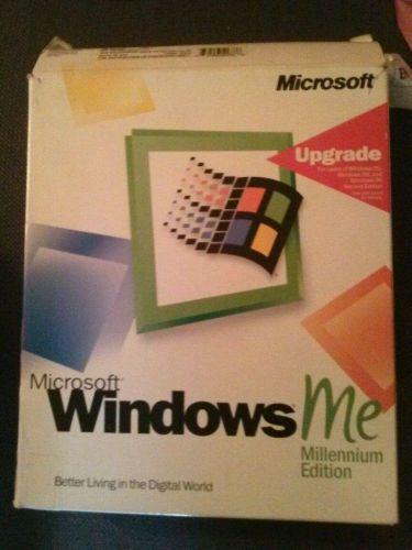 Windows Millennium Edition Upgrade Retail Version