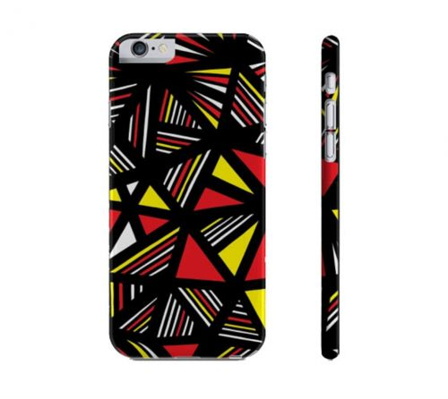 Earnhart Yellow Red Black Iphone 6 Phone Case