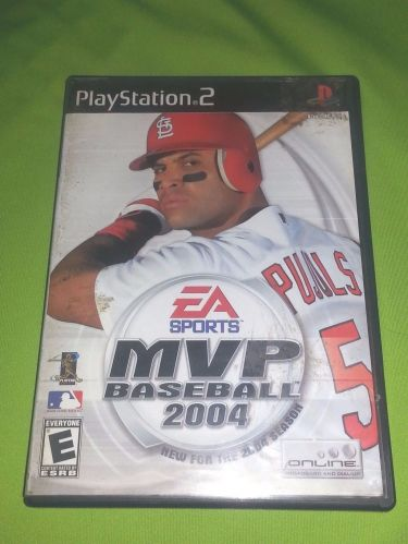 MVP BASEBALL 2004 SONY PLAY STATION 2 TESTED AND WORKING