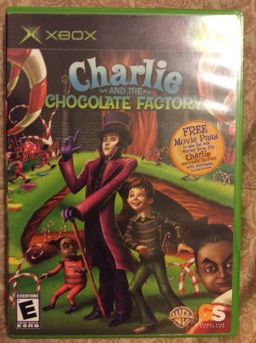 Charlie and the Chocolate Factory Xbox Game