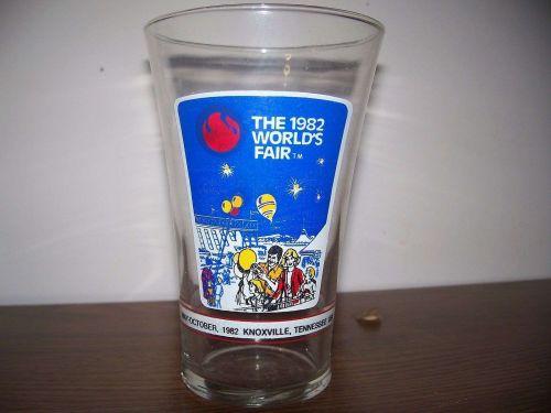 1982 Worlds Fair Glass