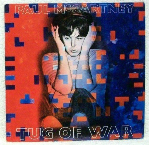 PAUL McCARTNEY ~ Tug Of War 1982 Rock LP
