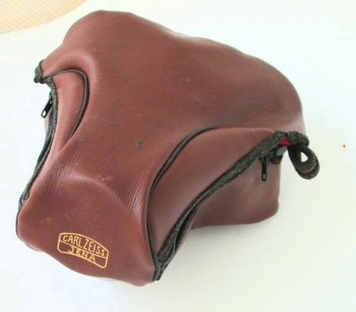 Original Soft case for 35mm SLR Carl Zeiss Iena brand Ample size Good condition