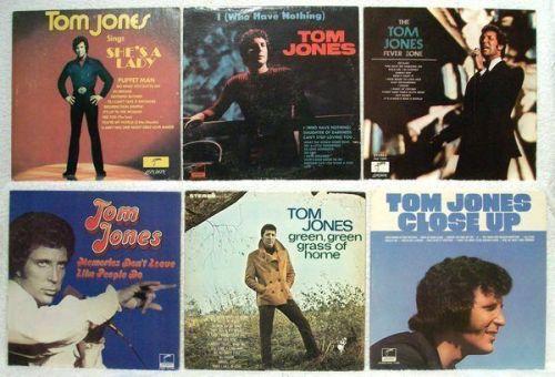 TOM JONES ~ Lot of ( 6 ) Pop / Adult Contemporary LPs
