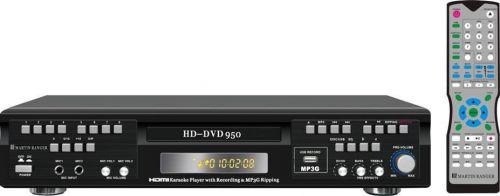 Karaoke Player DVD Machine With CD+G and MP3G Formats HD DVD-950 Martin Ranger