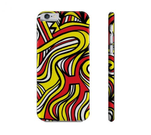 Engelbach Yellow Red Black Iphone 6 Phone Case
