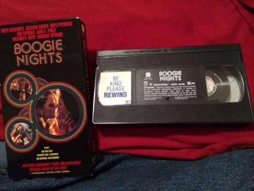 Boogie Nights (VHS, 1998) Starring Mark Wahlberg n Heather Graham