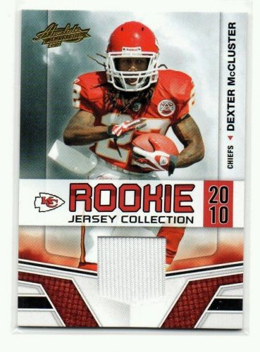 NFL 2010 Absloute Rookie Jersey Collection Dexter McCluster MNT
