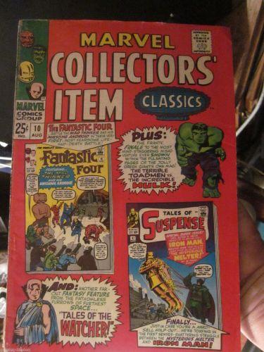Marvel Collector's Item Classics #10 Ann. Sized 1967 FF15 Watcher Ditko Hulk +