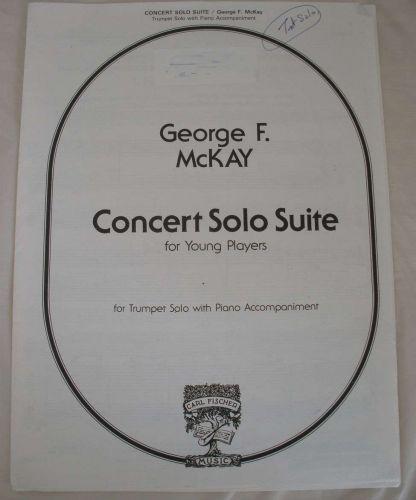 Concert Solo Suite - McKay - Trumpet Solo