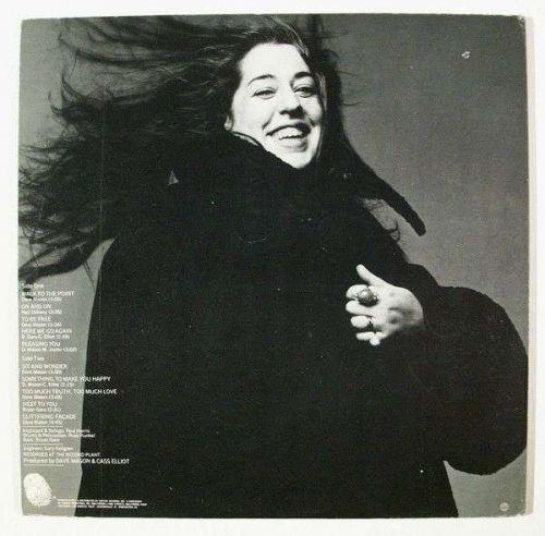 DAVE MASON & CASS ELLIOTT ~ Dave Mason & Cass Elliott 1971 Rock LP